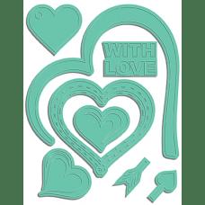 Kovinske šablone - Open Heart Dies - LDRS Creative