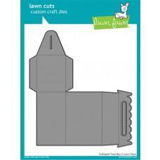 Kovinske šablone - Lawn Cuts - Scalloped Treat Box - Lawn Fawn