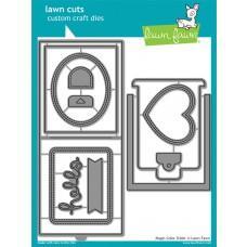 Kovinske šablone - Lawn Cuts - Magic Color Slider - Lawn Fawn