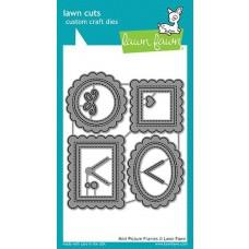 Kovinske šablone - Lawn Cuts - Mini Picture Frames - Lawn Fawn