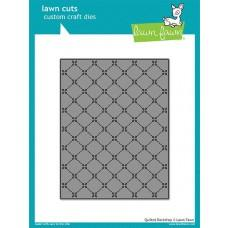 Kovinske šablone - Lawn Cuts - Quilted Backdrop - Lawn Fawn