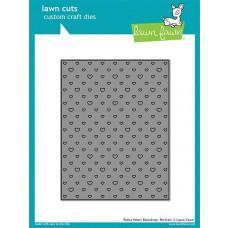 Kovinske šablone - Lawn Cuts - Polka Heart Backdrop: Portrait - Lawn Fawn