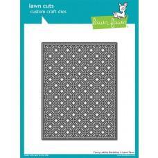 Kovinske šablone - Lawn Cuts - Fancy Lattice Backdrop - Lawn Fawn
