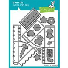 Kovinske šablone - Lawn Cuts - Cake Slice Box - Lawn Fawn