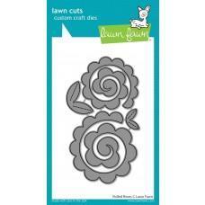 Kovinske šablone - Lawn Cuts - Rolled Roses - Lawn Fawn
