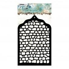 Plastična šablona - A6 Jenine's mindful art nr.01 Stencil - Studio Light