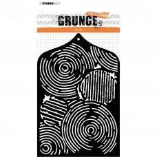 Plastična šablona - Mask stencil A6 Grunge collection 3.0 nr.27 - Studio Light