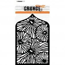 Plastična šablona - Mask stencil A6 Grunge collection 3.0 nr.28 - Studio Light