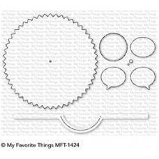 Kovinska šablona - Peek-a-Boo Wheel - My Favorite Things