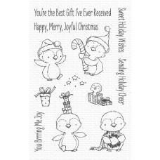 Set štampiljk - Sweet Holiday Penguins - My Favorite Things