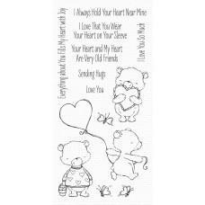 Set štampiljk - Joyful Heart Bears - My Favorite Things