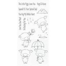 Set štampiljk - Piggy Pebbles - My Favorite Things