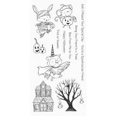 Set štampiljk - Spooktacular Friends - My Favorite Things