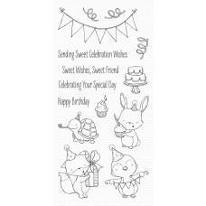 Set štampiljk - Sending Sweet Celebration Wishes - My Favorite Things