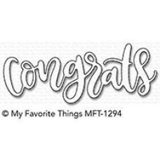 Kovinska šablona - Congrats - My Favorite Things