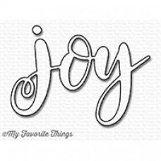 Kovinska šablona - Joy - My Favorite Things
