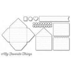 Kovinska šablona - Mini Mail - My Favorite Things