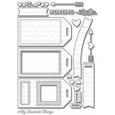 Kovinska šablona - Tag Builder Blueprints 5 - My Favorite Things