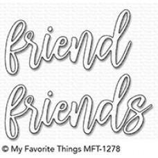 Kovinska šablona - Friend Duo - My Favorite Things