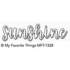 Kovinska šablona - Sunshine - My Favorite Things