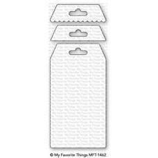 Kovinska šablona - Treat Tag - My Favorite Things