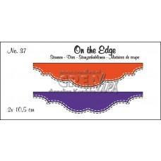 Kovinske šablone - Crea-Lies On The Edge Dies no.37 - Double Stitch