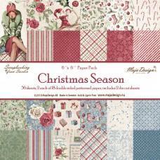 Blok Papirjev Maja Design - Christmas Season - 6x6