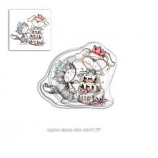 Štampiljka - Horace & Boo Surprise - Polkadoodles