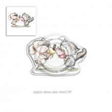 Štampiljka - Horace & Boo Delicious Day - Polkadoodles