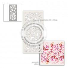 Plastična šablona - Delicious Swirls Stencil - Polkadoodles
