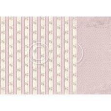 Papir - Rose Linen 12x12 - Where the Roses Grow