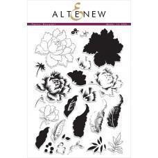 Set štampiljk - Peony Bouquet - Altenew