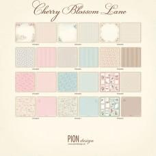 Papir - Cherry Blossom Lane - Celotna 12x12 kolekcija