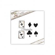 Štampiljka - Playing Card - Magnolia
