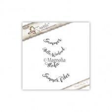 Štampiljka - Text - Magnolia
