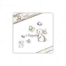 Štampiljka - Rabbit With Butterflies - Magnolia