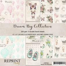 Blok Papirjev - Dream Big Collection - 12x12 - Reprint