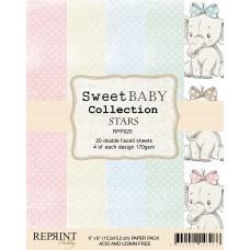 Blok Papirjev - Sweet Baby Stars - 6x6 - Reprint