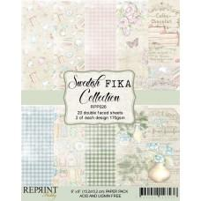 Blok Papirjev - Swedish Fika Collection - 6x6 - Reprint