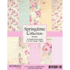 Blok Papirjev - Springtime Collection - 6x6 - Reprint