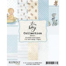 Blok Papirjev - It´s a Boy Collection - 6x6 - Reprint