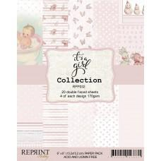 Blok Papirjev - It´s a Girl Collection - 6x6 - Reprint