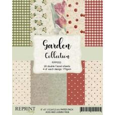 Blok Papirjev - Garden Collection - 6x6 - Reprint