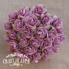 Vrtnično roza vrtnice - 20mm