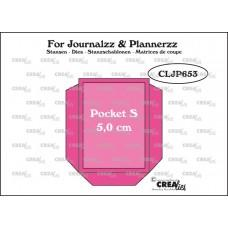 Kovinske šablone - Crea-Lies Dies for Journalzz & Plannerzz - Pocket S
