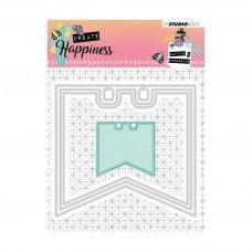 Kovinske šablone - Embossing Die - Create Happiness - Nr.153 - Studio Light