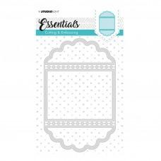 Kovinske šablone - Embossing Die Cut Stencil - Essentials Nr.115 - Studio Light