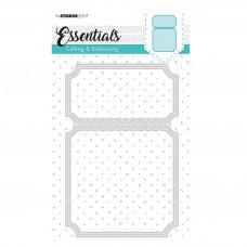 Kovinske šablone - Embossing Die Cut Stencil - Essentials Nr.116 - Studio Light