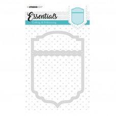 Kovinske šablone - Embossing Die Cut Stencil - Essentials Nr.118 - Studio Light