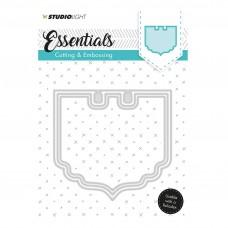 Kovinske šablone - Embossing Die Cut Stencil - Essentials Nr.119 - Studio Light